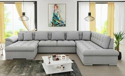 Ecksofa Nicole XXL Couch U-form Wohnlandschaft Wohznimmer Schlafsofa Polsterecke online kaufen