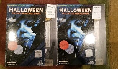**SLIPCOVER ONLY **NO BLU* HALLOWEEN 6 CURSE OF MICHAEL MYERS WAL-MART VHS STYLE - Wal Mart Halloween