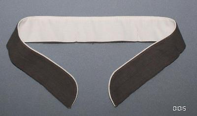 NVA Kragenbinde 54 cm unbenutzt KAMMERWARE ähnl. WH zum Einknöpfen Uniform-Jacke