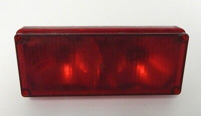 Tomar Electronics Brake Strobe Light Red Strobe Rect-37hwb