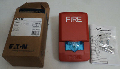 Lot Of 5 Eaton Lstr3 Wheelock Exceeder Wall Mount Led Strobe- Fire Alarm -new