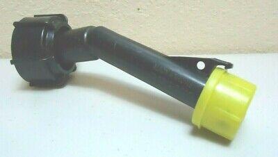 Original Blitz Plastic Gas Can Spout With Yellow Cap