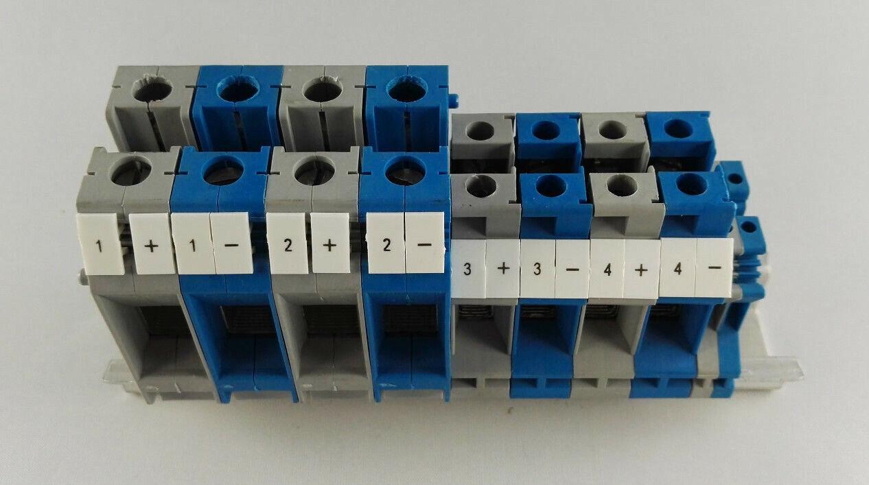 Phoenix Contact Reihenklemmen Block auf Hutschiene - 35 mm² , 16mm² , 1,5mm²