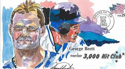 WILD HORSE HP KANSAS CITY ROYALS GEORGE BRETT JOINS THE 3,000 HIT CLUB SC 2531