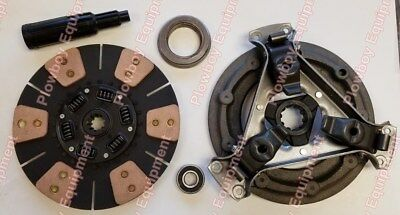 Clutch Kit For Case Ih - Disc Pressure Plate Bearings 384 385 454 464 484 585