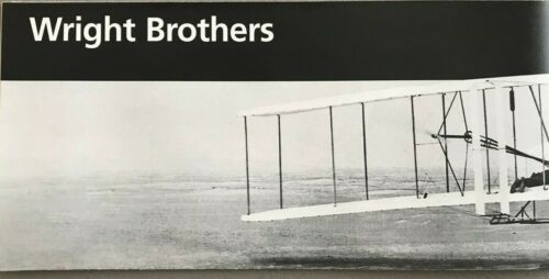 New WRIGHT BROTHERS MEMORIAL - NC   NATIONAL PARK SERVICE UNIGRID BROCHURE  Map