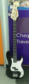 Crossfire Bass Guitar (Black)
