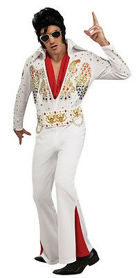 Adult Deluxe Elvis Presley Jumpsuit Costume