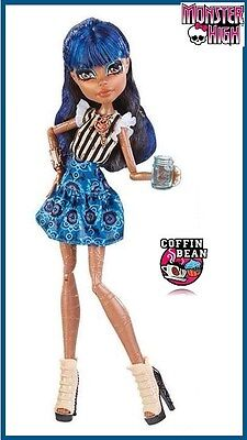 Monster High COFFIN BEAN Robecca Steam Robot Doll NEW Coffee Shop Cafe Ghouls ! (Monster High Shopping)