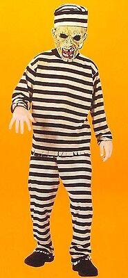 Überführen Zombie Jungen Kostüm Klein 4-6X Unheimlich Gefangene Maske Kinder