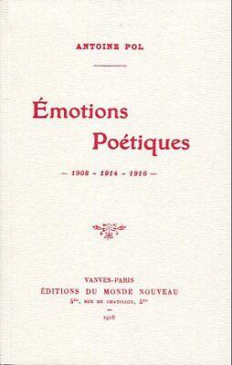 Antoine POL EMOTIONS POETIQUES contient LES PASSANTES musique de BRASSENS