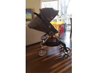 Stokke Scoot Pushchair, car seat isofix base and insert for newborn