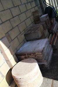 Assorted concrete blocks,bricks & slabs Cloverdale Belmont Area Preview