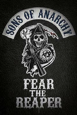 "SONS OF ANARCHY POSTER / FILMPOSTER ""FEAR THE REAPER"""