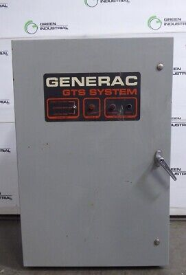 Used 105 Amp Generac 93a01317-w Gts System Automatic Transfer Switch