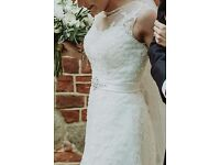 Alessandro Rossi Ivory Wedding Dress UK size 6-12