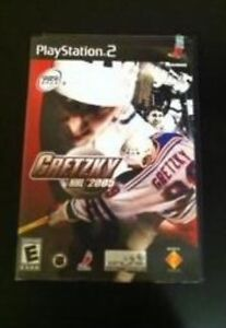 PlayStation 2 Gretzky NHL 2005 game