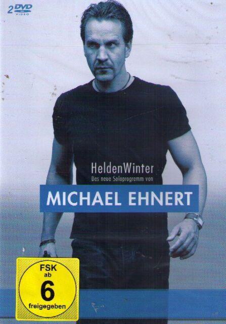 DOPPEL-DVD NEU/OVP - Michael Ehnert - HeldenWinter - Das neue Soloprogramm