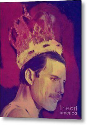 Freddie Mercury King Pop Art/Malerei/StreetArt/Leinwand/Kunstdruck/XXL