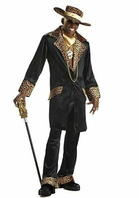 California Costumes Collections 00832 Men's Supa Mac Daddy Pimp Party Costume - Mac Daddy Pimp