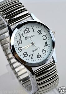 Ladies-Analogue-Quartz-Watch-with-Stretch-Band