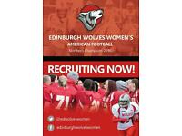 Edinburgh Wolves Women's American Football
