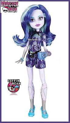 Monster High COFFIN BEAN Doll TWYLA Boogey Mans Kid NEW Coffee Shop Cafe Ghouls (Monster High Shopping)
