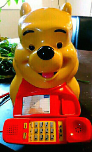 1980's novelty pooh phone