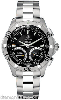 NEW TAG HEUER AQUARACER CALIBRE S CHRONOGRAPH LUXURY MEN'S WATCH CAF7010.BA0815