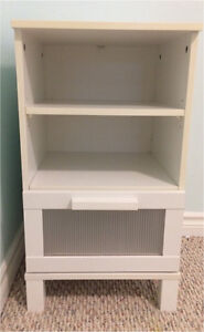 Very Sweet White IKEA Bed Side Table