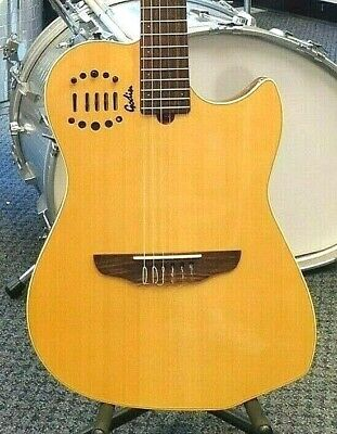 1998 Godin Multiac Nylon Duet Ambiance Acoustic-Electric Guitar! NICE NO RESERVE