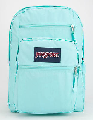 New JanSport Big Student Aqua Dash Book Bag Backpack