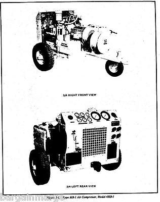 4mb1 Davey Electric Compressor Technical Manual 15 Cfm 3500 Psi