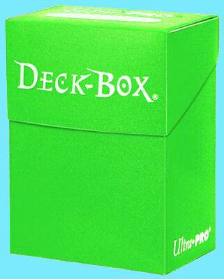 Ultra PRO Standard Deck Box, 80-Count, Light Green