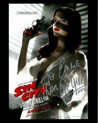 EVA GREEN Autographed Signed SIN CITY A DAME TO KILL FOR Photograph - To