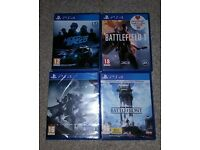 4 PS4 Games Joblot: DESTINY 2, STAR WARS BATTLEFRONT, BATTLEFIELD 1 AND NEED FOR SPEED