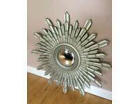 Laura Ashley champagne constellation mirror