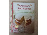 Grandma's best recipes book