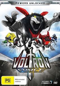 Voltron Force - Powers Unlocked (DVD, 2012) R4 - New/Sealed!