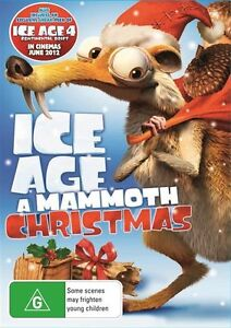 Ice Age: A Mammoth Christmas NEW R4 DVD