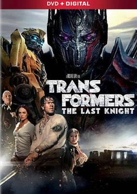 TRANSFORMERS: THE LAST KNIGHT NEW DVD