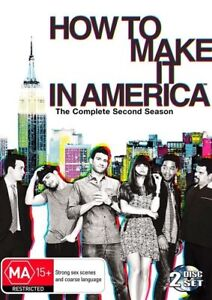 How To Make It In America: Season 2 (DVD, 2012, 2-Disc Set), NEW SEALED REGION 4
