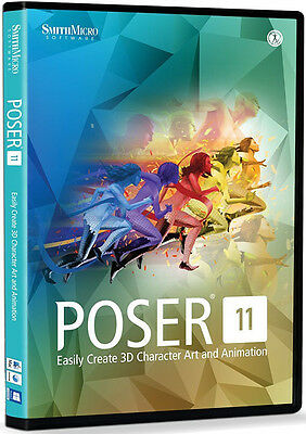 Smith Micro Poser 11 New Retail Box   Psr11hdvd