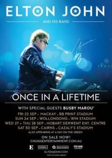 Elton John in Cairns - GA Standing in the Field West