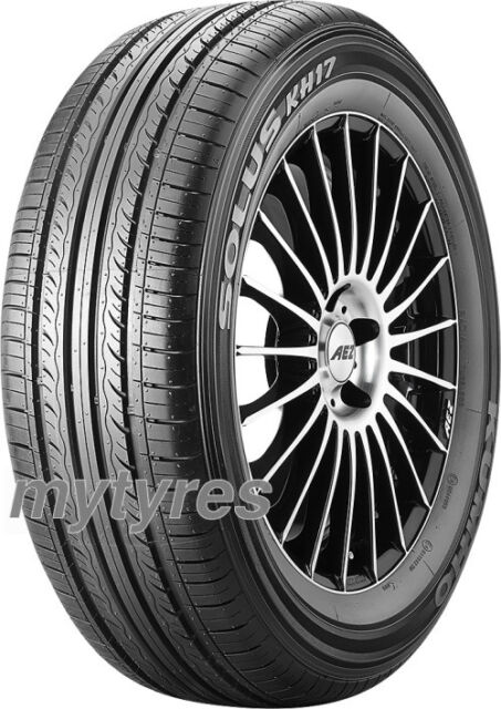 4x SUMMER TYRES Kumho Solus KH17 185/60 R15 84H BSW