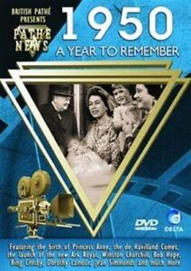 British-Pathe-News-A-Year-To-Remember-1950-DVD-DVD-5024952963508-New