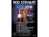 4 Rod Stewart Tickets Odyssey Arena SOLD OUT Monday 14th November