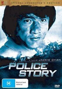 B5 BRAND NEW SEALED Jackie Chan - Police Story (DVD, 2007) R4 AUS Stock