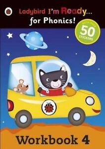 Workbook 4: Ladybird I'm Ready for Phonics by Penguin Books-9780723289951-F059
