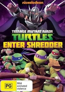 Teenage-Mutant-Ninja-Turtles-Enter-Shredder-DVD-Region-4-New-and-Sealed
